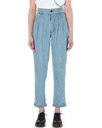 69 - Butt Void Tapered Mid-rise Jeans - Lyst