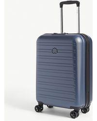 Delsey Segur 2.0 Four-wheel Cabin Suitcase 55cm - Blue