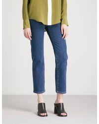 JOSEPH - Den Slim-fit-straight High-rise Jeans - Lyst