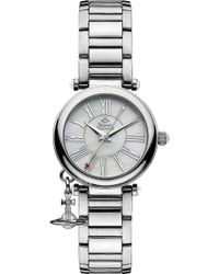 Vivienne Westwood - Vv006pslsl Mother Orb Stainless Steel Watch - Lyst