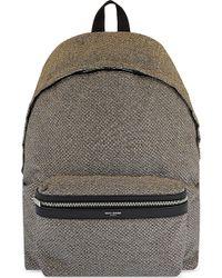 Saint Laurent - City Glitter Backpack - Lyst