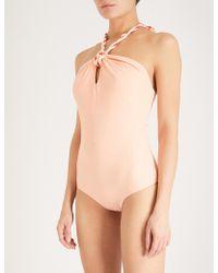 Paper London | Palm Swimsuit | Lyst