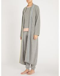 Chinti & Parker - Piped-trim Cashmere Dressing Gown - Lyst