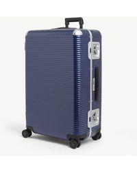 Fpm Fabbrica Pelletterie Milano Bank Light Spinner 76 Suitcase - Blue