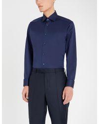 Eton of Sweden - Slim-fit Cotton Shirt - Lyst