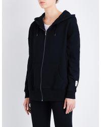 Les Girls, Les Boys - Mini Logo Zip-up Stretch-cotton Hoody - Lyst