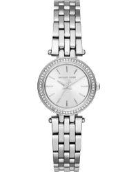 Michael Kors - Mk3294 Petite Darci Stainless Steel Watch - Lyst
