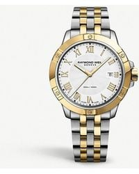 Raymond Weil - 8160-stp-00308 Tango Stainless Steel Gold-plated Watch - Lyst
