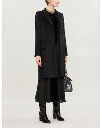 Max Mara - Oncia Tassle-fringe Belt Wool-blend Coat - Lyst
