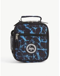 Hype X-ray Printed Woven Lunchbox - Blue