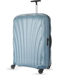 Samsonite Cosmolite Four-wheel Suitcase 75cm - Blue