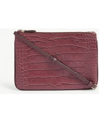 Sandro - Croc-embossed Cross-body Bag - Lyst