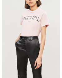 a344740f Givenchy Apocalypse Cactus-print Cotton-jersey T-shirt in Black - Lyst