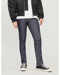 Acne Studios Max Faded Regular-fit Straight Jeans - Blue