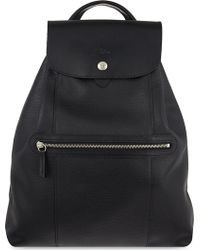 Longchamp - Le Foulonne Leather Backpack - Lyst