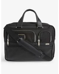 Tumi Alpha 3 Expandable Laptop Briefcase - Black