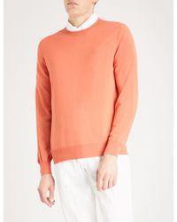 Brunello Cucinelli - Crewneck Wool And Cashmere Jumper - Lyst