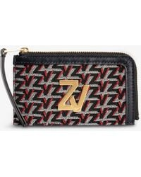 Zadig & Voltaire Zv Initiale Leather Belt Bag - Multicolour