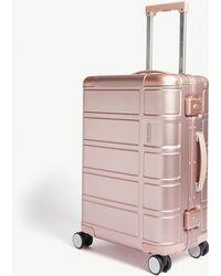 American Tourister Alumo Four-wheel Cabin Suitcase 55cm - Pink