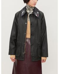 Toga - X Barbour Embellished-collar Cotton Coat - Lyst