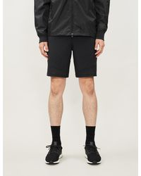 Under Armour Vanish Stretch-shell Shorts - Black