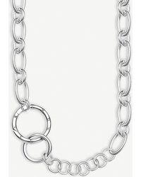 Thomas Sabo Circle Sterling Silver Necklace - Metallic