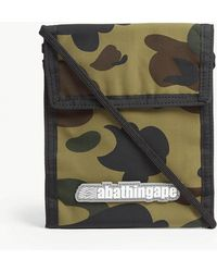 A Bathing Ape - Camouflage Pass Holder - Lyst