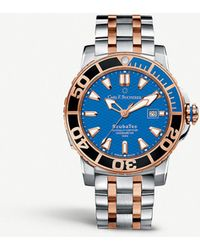 Carl F. Bucherer 00.10632.24.53.21 Patravi Scubatec Stainless Steel And 18ct Rose-gold Watch - Multicolor