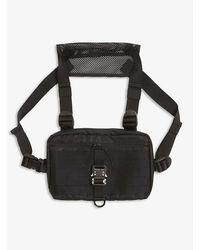 1017 ALYX 9SM New Chest Rig Nylon Bag - Black