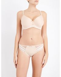 Fantasie Rebecca Moulded Underwired Bra - Natural
