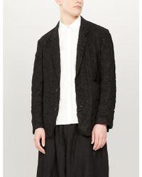 Toogood The Milkman Regular-fit Cotton Shirt - Black