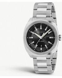 Gucci - Ya142301 GG2570 Stainless Steel Watch - Lyst