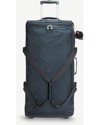 Kipling - Teagan Wheeled Nylon Duffle Bag 77cm - Lyst