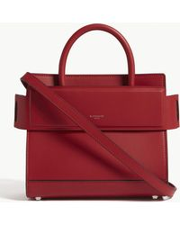 Givenchy - Ladies Bright Red Horizon Leather Mini Cross-body Bag - Lyst