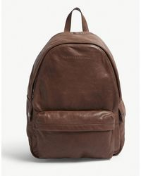 Brunello Cucinelli - Leather Backpack - Lyst