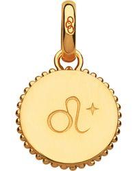 Links of London - Leo 18ct Yellow-gold Vermeil Zodiac Charm - Lyst