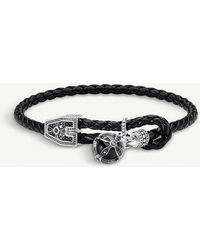 Thomas Sabo - Kingdom Of Dreams Orb Leather Bracelet - Lyst