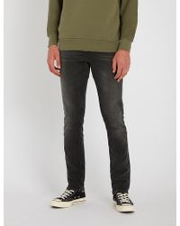 Nudie Jeans - Grim Tim Regular-fit Tapered Jeans - Lyst