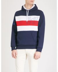 Polo Ralph Lauren - Cp-93 Jersey And Cotton-blend Hoody - Lyst