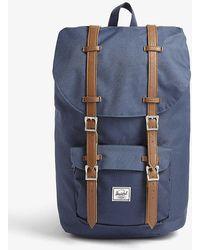 Herschel Supply Co. Retreat Light Canvas Backpack - Blue