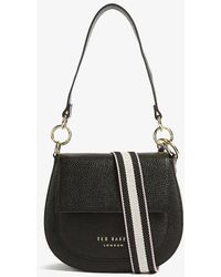 Ted Baker Amali Leather Cross-body Bag - Black