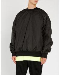 Juun.J - Oversized Shell Sweatshirt - Lyst