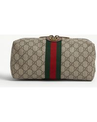 Gucci Ophidia Toiletry Bag - Natural