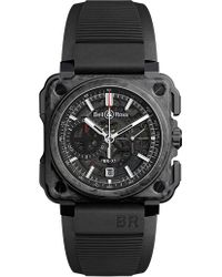 Bell & Ross - Brx1cecfblack Carbon Forge Carbon And Titanium Watch - Lyst