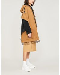 Burberry Helene Wool And Cashmere Cape - Multicolour