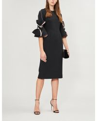 ROKSANDA - Lavete Bow-detail Cady Dress - Lyst