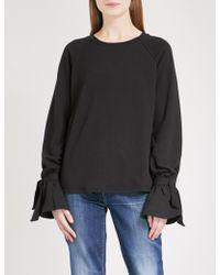 PAIGE - Calandra Cotton-blend Sweatshirt - Lyst