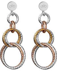 Links of London | Aurora Double Link Earrings | Lyst
