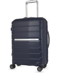 Samsonite Flux Spinner Four-wheel Suitcase 55cm - Blue