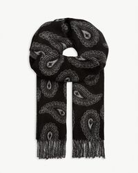 Ted Baker Paisley Scarf - Black